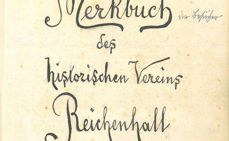 Gaestebuch Inv Nr 02050 1 Seite Reichenhallmuseum