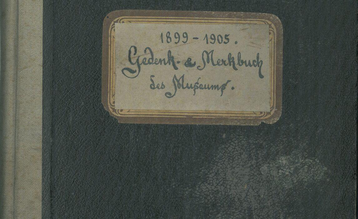 Gaestebuch Inv Nr 02050 Reichenhallmuseum